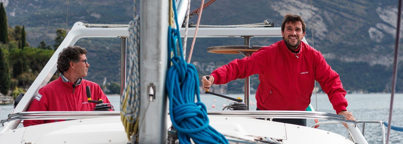Microcredito barca a vela per disabili sul Garda